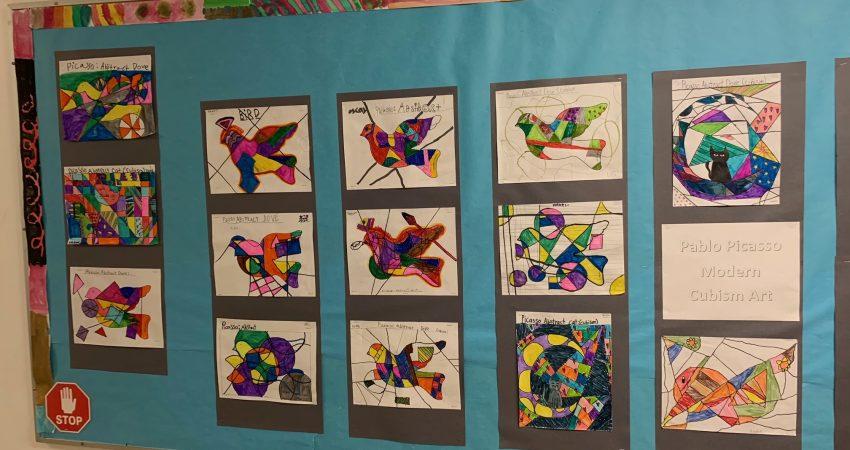 Div 8 Picasso art