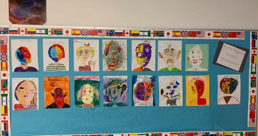Div 8 Picasso portraits